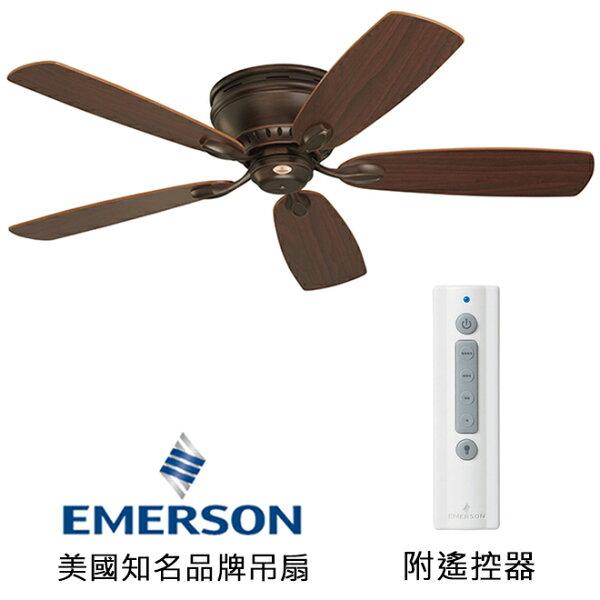 [topfan]EmersonPrimaSnugger52英吋吸頂扇(CF905VNB)威尼斯銅色(適用於110V電壓)