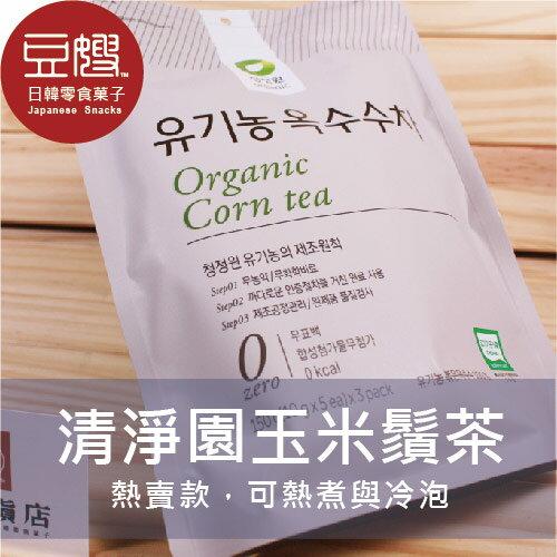 【豆嫂】韓國沖泡 韓國內銷 零卡清淨園玉米鬚茶