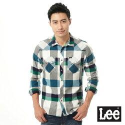 Lee 格紋長袖襯衫