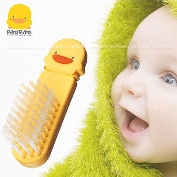 黃色小鴨造型嬰幼兒髮梳 83301 好娃娃