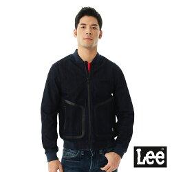 Lee 防風牛仔外套/UR -男款-深藍