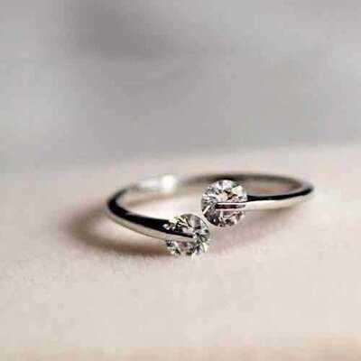 925純銀戒指開口戒~日系風格俏麗大方七夕情人節 女飾品73dt62~ ~~米蘭 ~