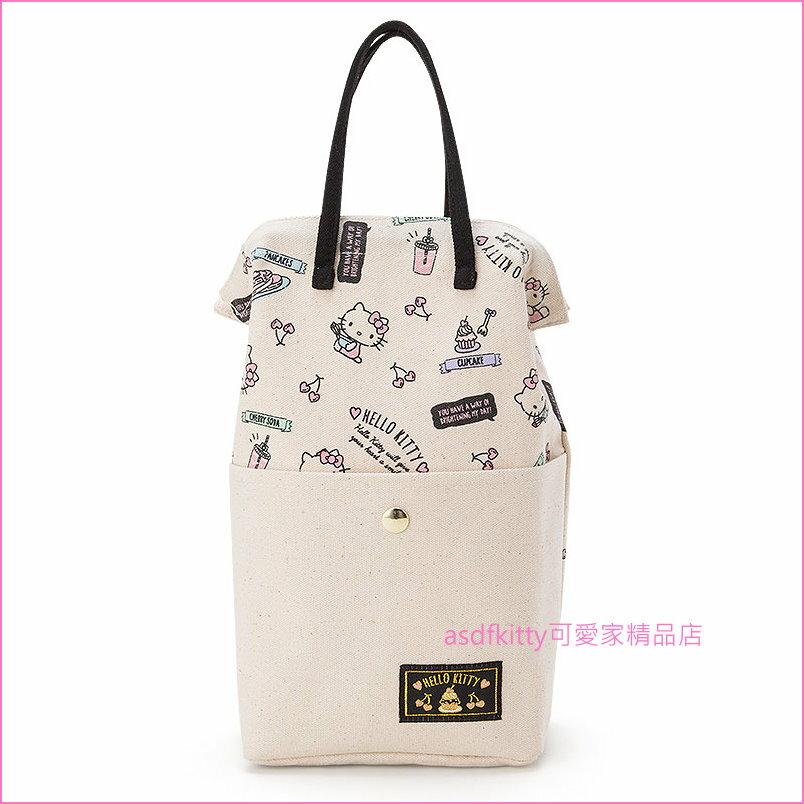 asdfkitty可愛家☆KITTY塑膠袋 收納袋-一般普通的購物塑膠袋方便收納.取出-日本正版商品