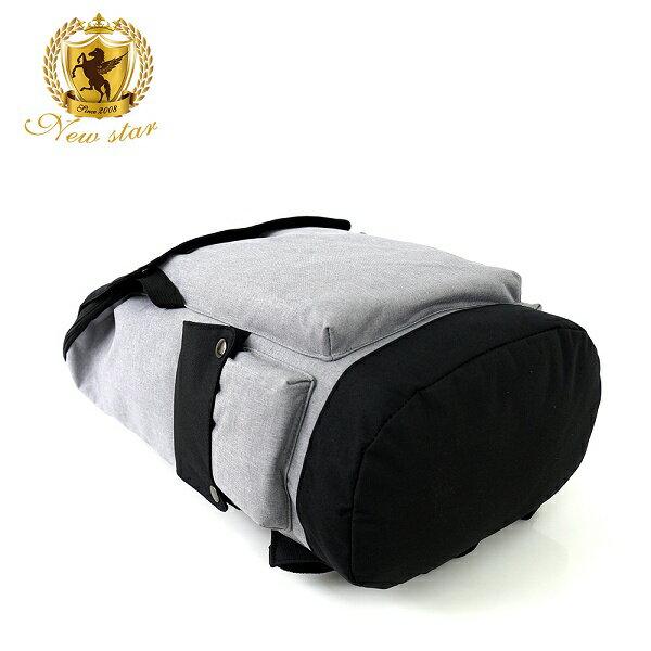 日系大容量後背包 (休閒 防水 多口袋 撞色 簡約 包包 NEW STAR BK248 4