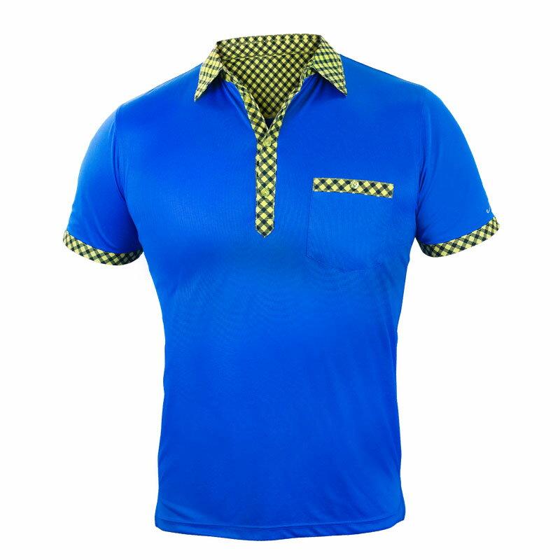 機能型吸濕排汗冰紗POLO衫 ◆NU旗艦店◆