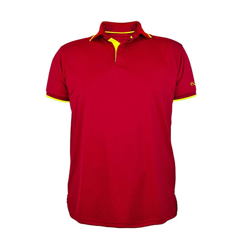 新潮透氣POLO衫-紅色◆NU旗艦店◆