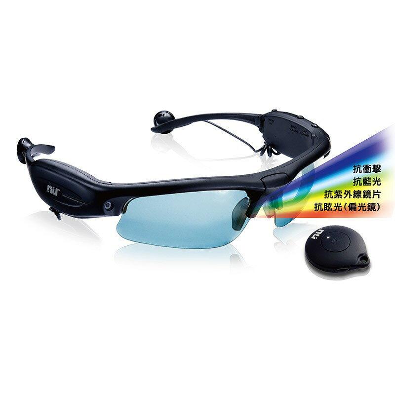 NU 8GB攝錄太陽眼鏡MP3 Hawkeye ◆NU旗艦店◆