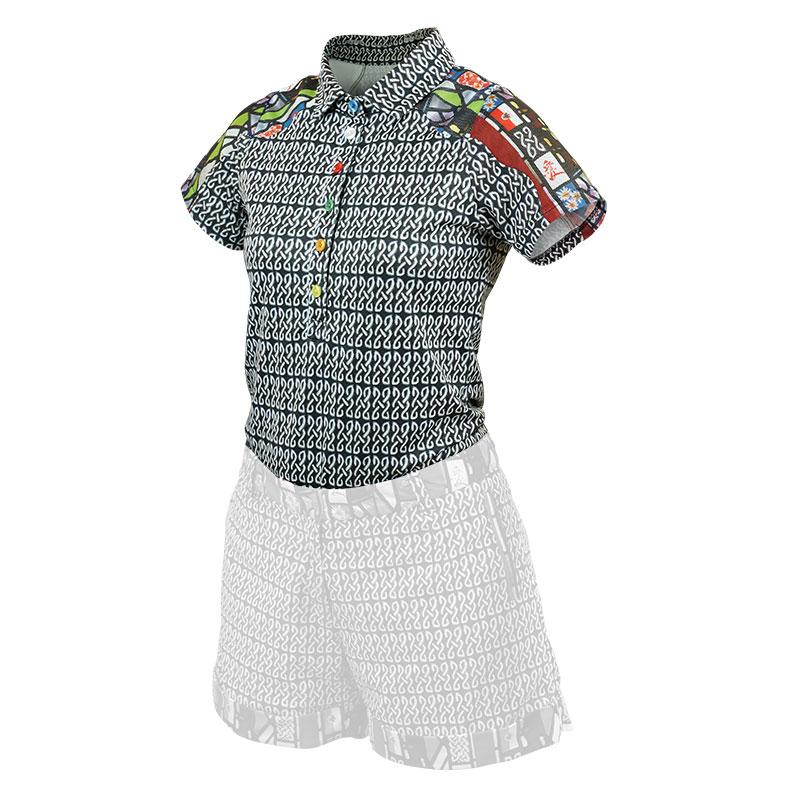 愛系列冰紗Polo衫 女款 ◆NU旗艦店◆