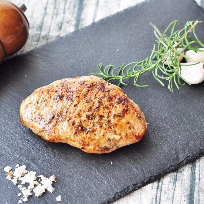 新品好菜 厚切豬排 滿足愛吃肉的您 {最夯天菜大廚舒肥料理 }  在家讓你輕鬆當大廚 鎖住食材原汁原味 舒肥 義式香料風味厚切豬排 (190公克/單片)
