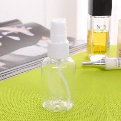 【Love Shop】50ML 透明噴霧瓶/乾洗手空瓶/乳液空瓶子/按壓式化妝品/霧噴瓶/抗菌乾洗手空瓶
