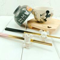 婚禮小物推薦到|現貨|日本空運 迪士尼陶瓷筷架|日本迪士尼 米奇 米妮 Disney 婚禮小物