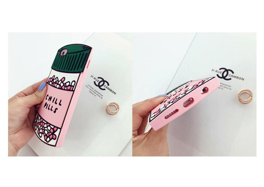 【限時下殺】藥罐子/愛心款手機殼矽膠美味軟殼/iPhone 6/Plus i6/保護後蓋/手機殼 3