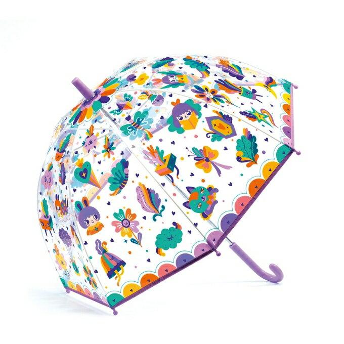 法國 Djeco智荷 藝術插畫雨傘 / 透明傘(多款任選) 5