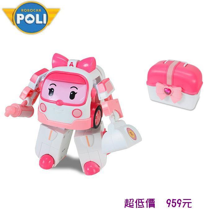 ^~美馨兒^~ 波力POLI~ LED變形安寶手提基地^~RB83074^~ 959元