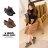 ★399免運★格子舖*【KTD681】學院風復古洗色皮革 英倫牛津雕花 綁帶6.5CM粗高跟踝靴 牛津鞋 2色 0