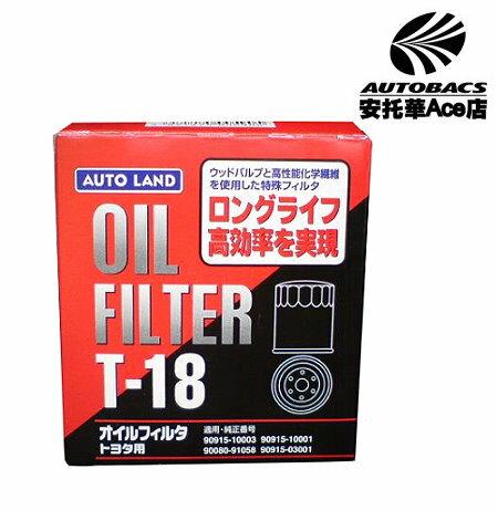 【日本獨家限量款】AUTO LAND機油芯 TERCEL T-18 (251307)