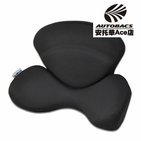 【日本獨家專利款】乳膠背腰墊ADK-61-BK黑 (629295)