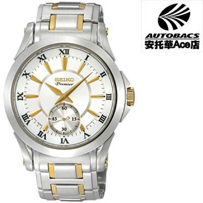 【SEIKO男錶】PREMIER新古典主義 紳士錶6G28-00M0KS雙色款(674467)