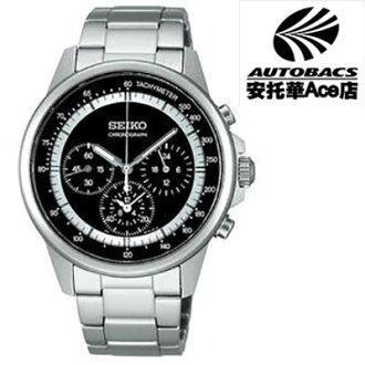 【SEIKO男錶】Spirit 纖薄時尚美學 計時腕錶7T11-0BH0D 黑SBTQ077J (677287)