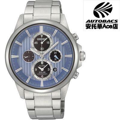 安托華Ace店:【SEIKO男錶】Solar太陽能科技時尚腕錶V174-0AA0A(721802)
