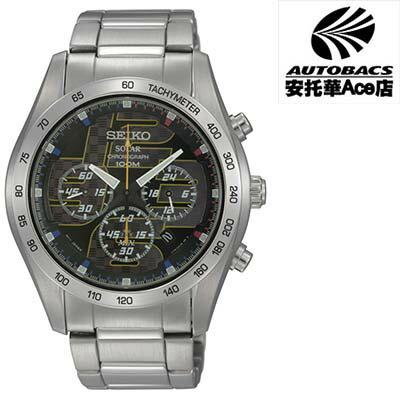 【SEIKO男錶】Solar 急速光影 計時腕錶  V175-0AN0D 黑 (722061)