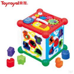 樂雅 Toyroyal 新型六面益智盒 玩具 TF767 ST安全玩具