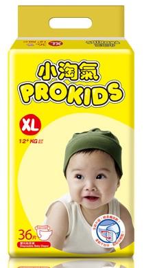 【愛寶媽咪】小淘氣 小淘氣透氣乾爽紙尿褲 XL(36片/包)