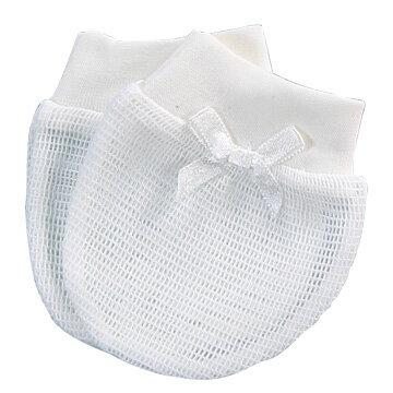 『121婦嬰用品館』狐狸村 純棉細網束口手套 - 限時優惠好康折扣