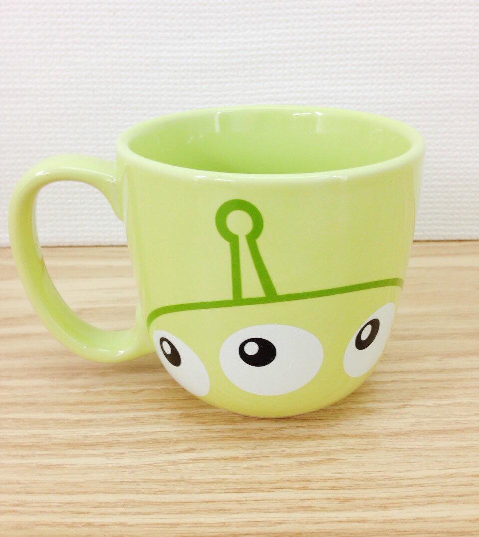 【真愛日本】15101300012 樂園限定大馬克杯-三眼怪 維尼家族POOH 迪士尼樂園限定 馬克杯 杯子 餐具
