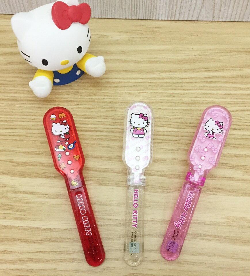 【真愛日本】151008000043代折梳-款 三麗鷗 Hello Kitty 凱蒂貓 梳子 隨身帶 折梳 隨機出貨
