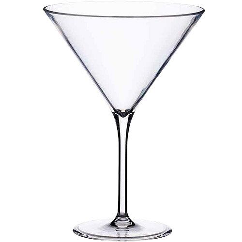 《KitchenCraft》BarCraft仿玻璃馬丁尼杯(250ml)