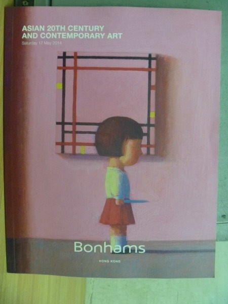 【書寶二手書T6/收藏_XCN】Bonhams_2014/5/17_Asian 20th Century and…
