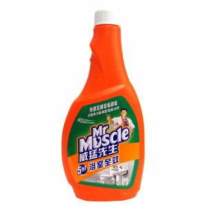 威猛先生 5in1浴室全效清潔劑 重裝瓶 500g