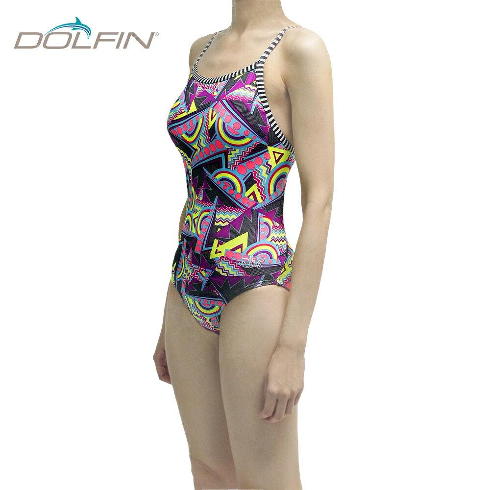 美國拓芬DOLFIN女性運動連身泳裝Flashback - 限時優惠好康折扣