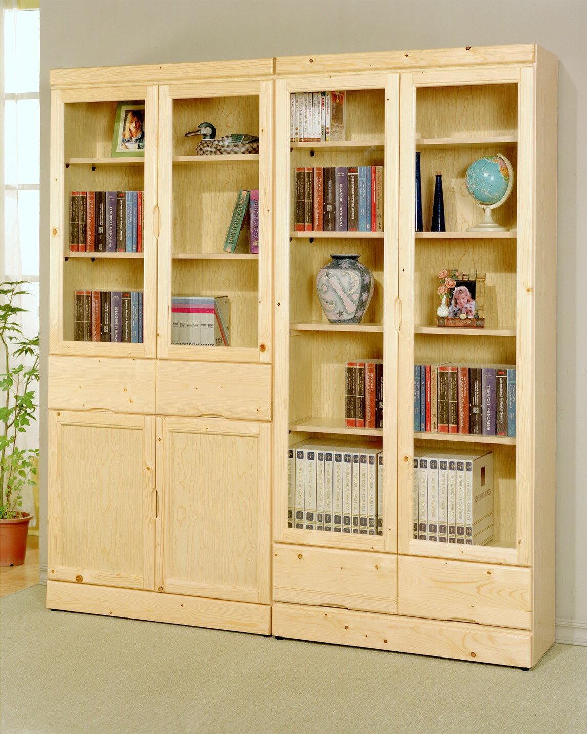 ~石川家居~GF 松木系列 松木書櫃 中抽和下抽 單個價錢 兩種款式 ^(不含 ^) 需