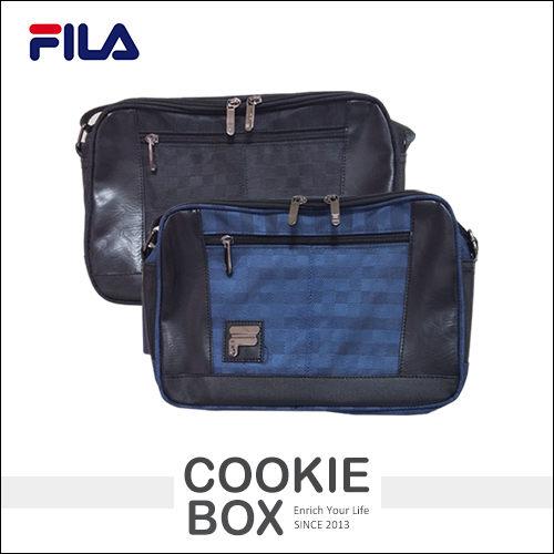 義大利正版FILA斐樂側背包(小)斜背背包書包外出包收納休閒運動男性中性*餅乾盒子*