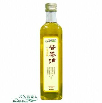 【益家人】大菓種 苦茶油 500mL