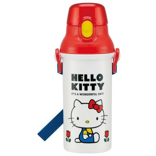 【百倉日本舖】日本製 Hello Kitty水壺/兒童水壺/直飲式水壺
