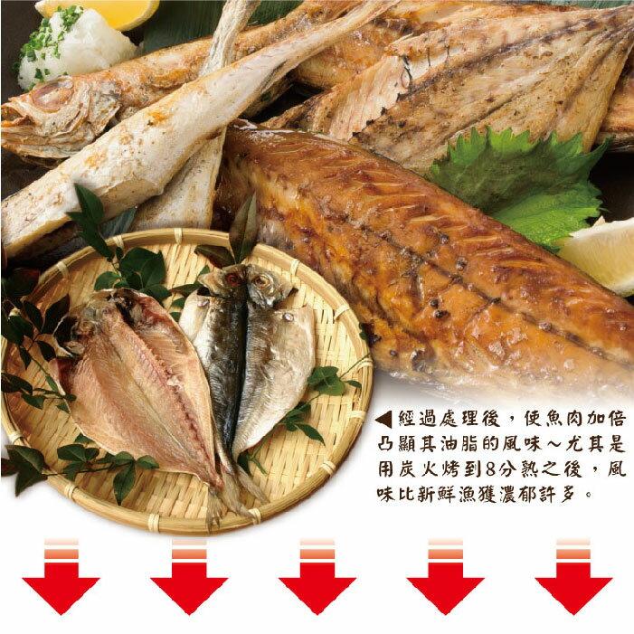 【築地藏鮮】黃金竹筴魚一夜干 180克 / 份  (10入組) 買越多省越多 | 冷凍真空包裝 免運到府 | 生鮮團購專區 | 4