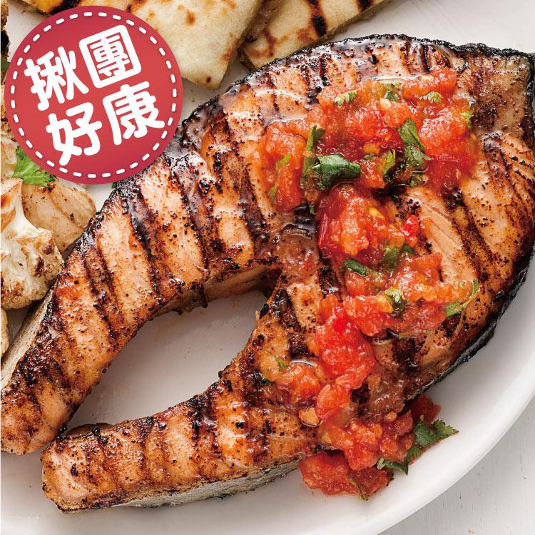 【築地藏鮮】厚切智利鮭魚 390克 / 片 (3入組 / 10入組 / 50入組)  |  免運到府 冷凍真空包裝 | 生鮮團購專區 | 0