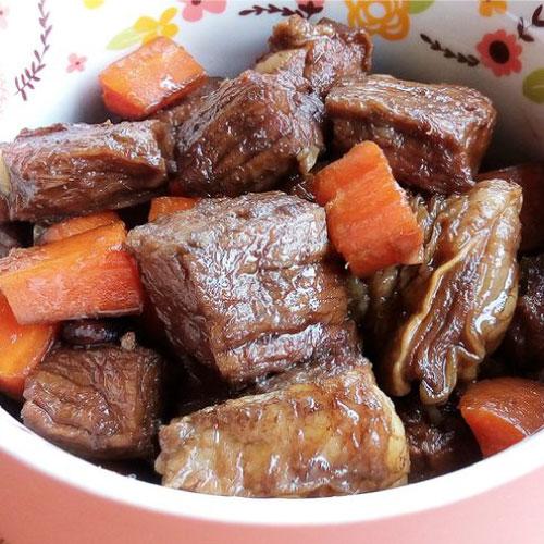 【築地藏鮮】紅燒牛腩 (600g / 2包)  | 網購生鮮第一選!宅配生鮮團購 進口牛肉 零售到批發就找築地藏鮮 1