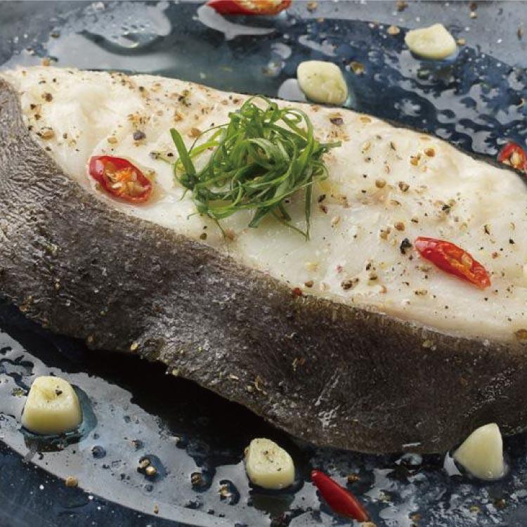 【築地藏鮮】厚切格陵蘭無肚洞鱈魚(大比目魚) 390g / 片 | 買一份送一份 | 總共780g / 2片  | 網購生鮮第一選!宅配生鮮團購 進口牛肉 零售到批發就找築地藏鮮 0