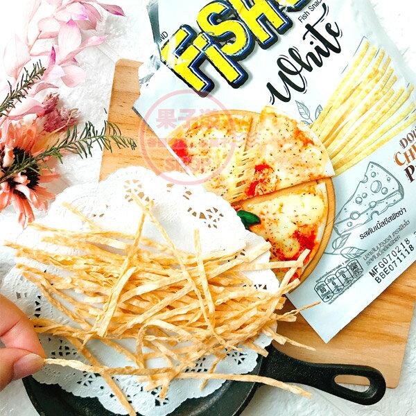 泰國FISHO鱈魚絲雙倍起司披薩味(單包)[TA064]