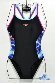 【登瑞體育】SPEEDO女款競技連身泳裝_SD810385C142