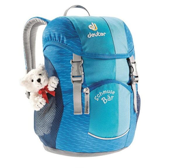 露營趣:【露營趣】中和送贈品德國deuter36003Schmusebar8L兒童背包兒童書包休閒背包