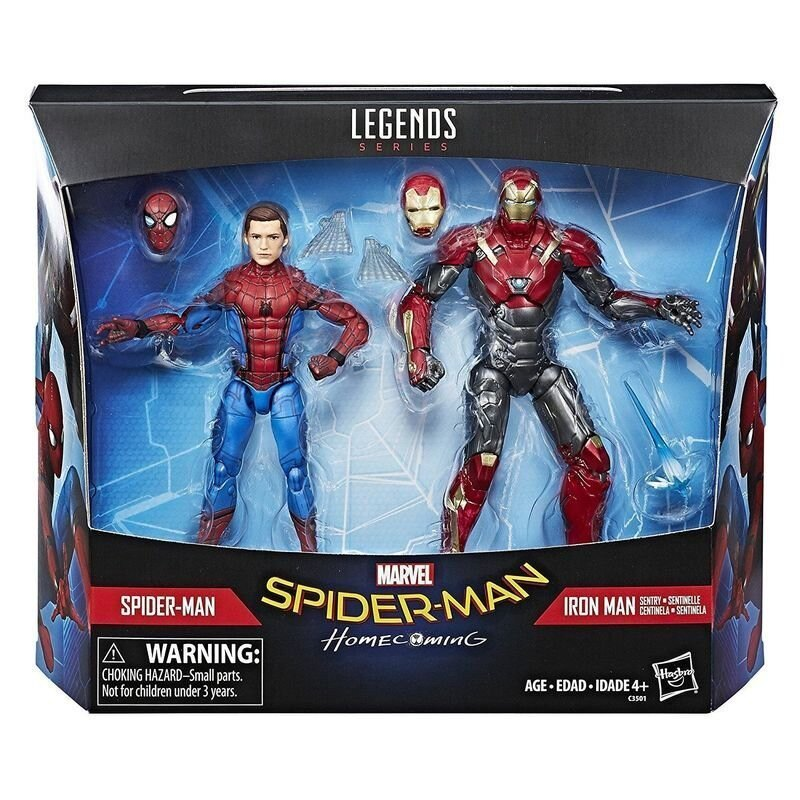 (卡司 正版現貨)Marvel Legends 返校日 蜘蛛人 鋼鐵人 6吋 馬克47 Mk47 Mk 47 雙人包