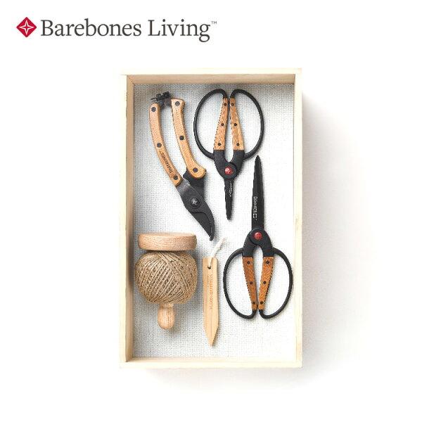 Barebones園藝禮盒組GFT-111城市綠洲(不鏽鋼、竹子手柄、園藝用品)