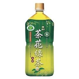 黑松茶花綠茶975ml-1箱【合迷雅好物商城】