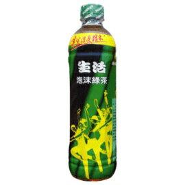 生活泡沫綠茶590ml-1箱 【合迷雅好物商城】