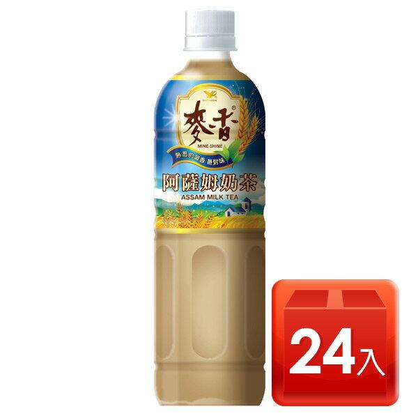 【黑貓配送】統一麥香阿薩姆奶茶600ml-1箱 24入 -此商可送貨上樓 【合迷雅好物商城